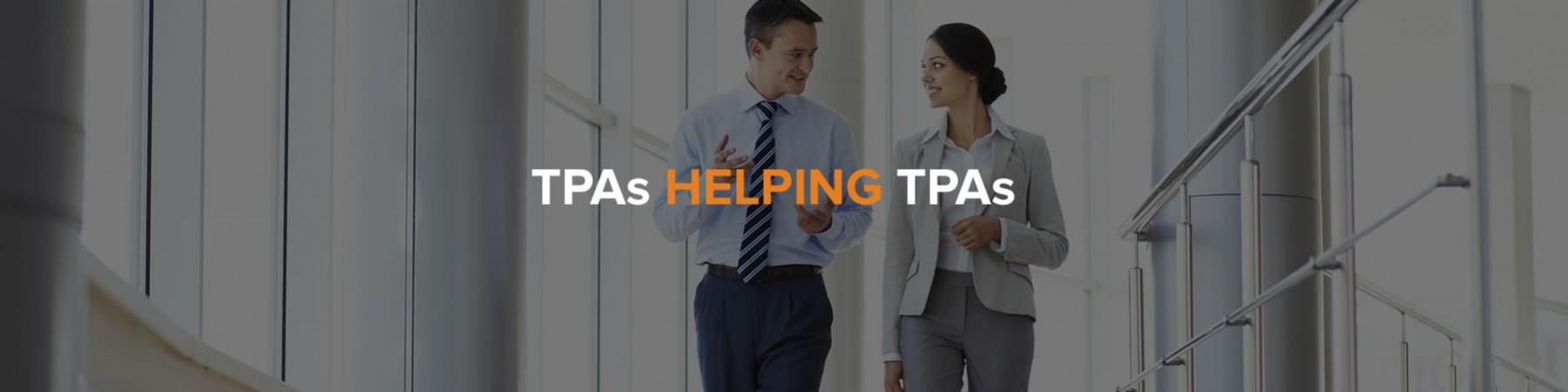 TPAs Helping TPAs